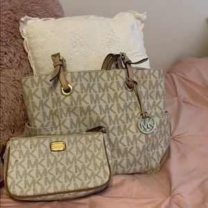 Both authentic Michael Kors bags for sale!